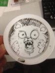 Starbucks lid character 29