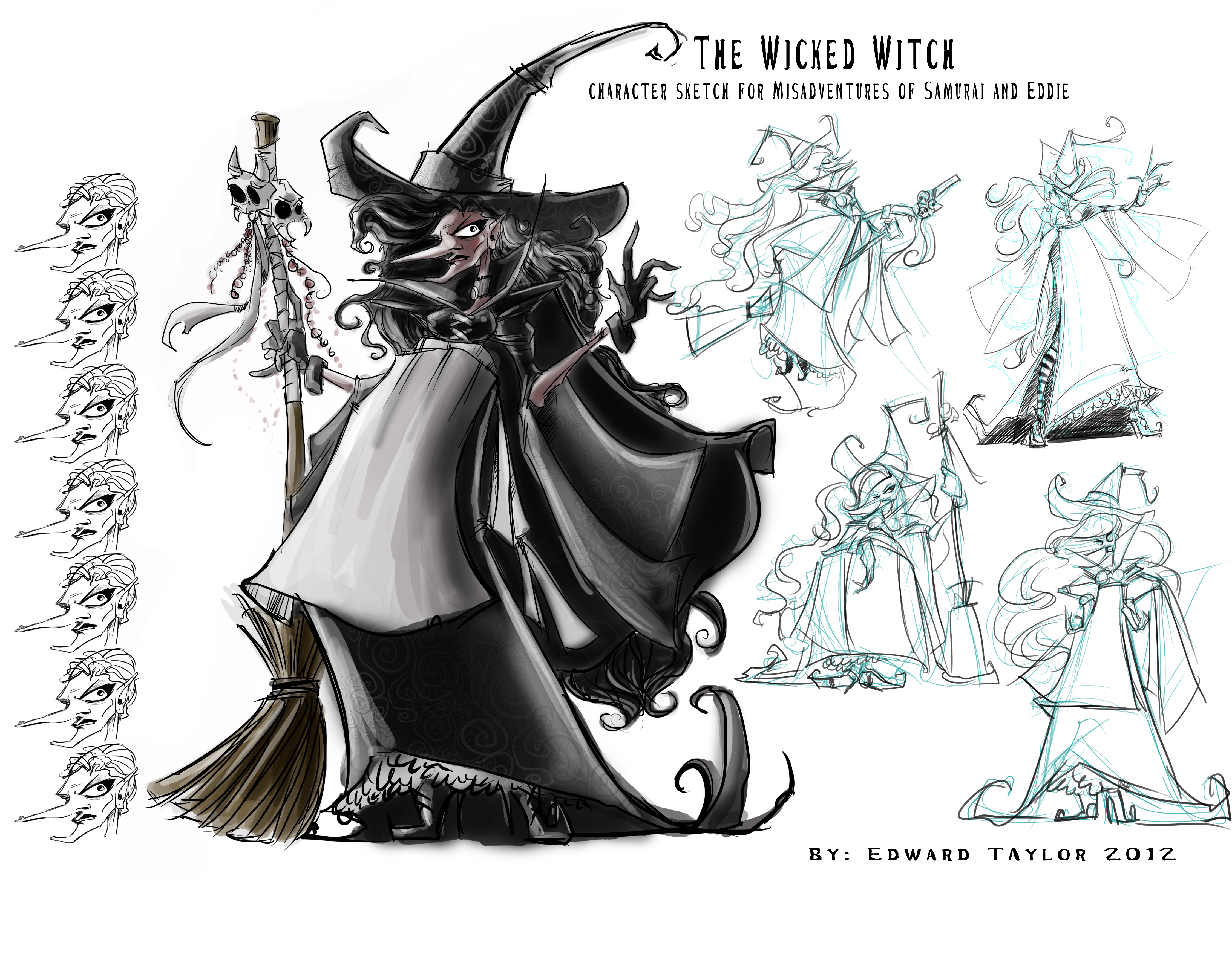 She S Quite The Wicked Witch Edwardian Taylor