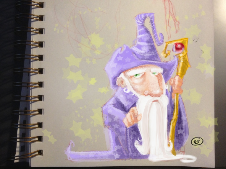 Wizard 30 Minute Quick Sketch