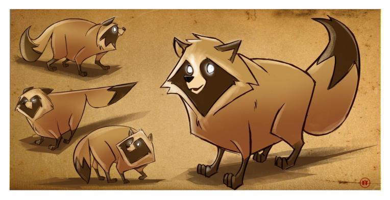 Assignment 7: An Animal Character Design