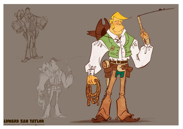 This Weeks Character Design Project
