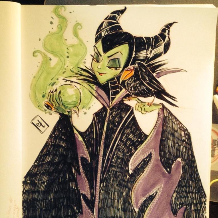 Maleficient Sketch