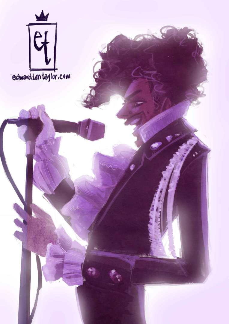 The Artist Formerly known as Prince for Sketch Dailies