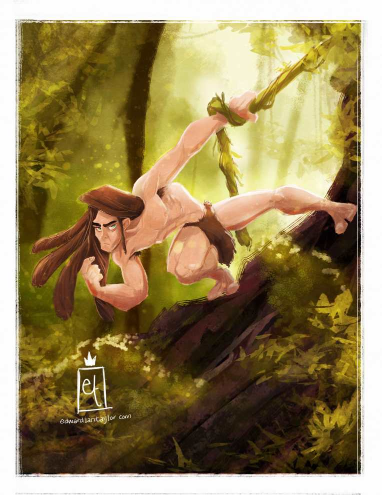 Tarzan for Sketch Dailies