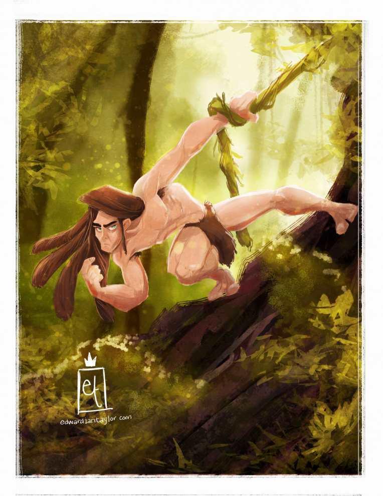 Tarzan for Sketch Dailies