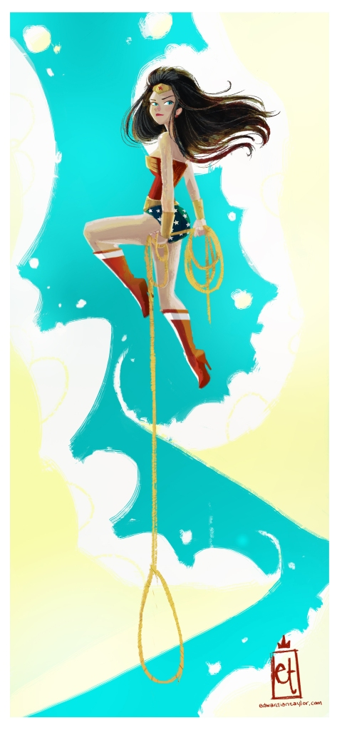 You can now purchase some of my prints on INPRNT.com   http://www.inprnt.com/gallery/edwardtaylor/wonder-woman/
